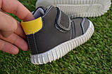 Детские сапоги ботинки для мальчика темно коричневые р21-26, фото 3