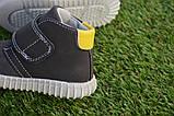 Детские сапоги ботинки для мальчика темно коричневые р21-26, фото 6
