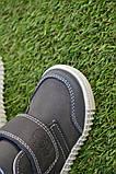Детские сапоги ботинки для мальчика темно коричневые р21-26, фото 8