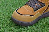 Детские демисезонные ботинки clibee для мальчика коричневые р26-31, фото 4
