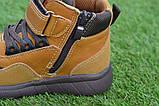 Детские демисезонные ботинки clibee для мальчика коричневые р26-31, фото 5