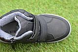 Подростковые демисезонные сапоги ботинки на липучке синие р33 - 38, фото 6