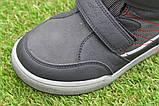 Подростковые демисезонные сапоги ботинки на липучке синие р33 - 38, фото 8