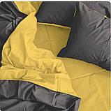 Комплект постельного белья  Бязь GOLD 100% хлопок Серо - желтый, фото 2