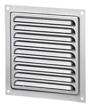 Решетка вентиляционная МВМ 200 цинк, металлическая
