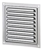 Решетка вентиляционная МВМ 200 цинк, металлическая, фото 1