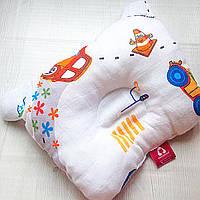 Ортопедическая подушка - бабочка для мальчиков Lukoshkino ® (8072LUK-3)