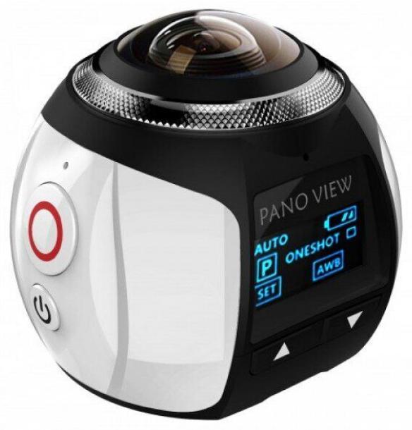 Экшн-Камера 360 Градусов (Панорамная Съёмка) PanoView WI-FI