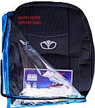 Чехлы на сидения Daewoo Lanos 1997- (разные цвета) Nika, фото 5
