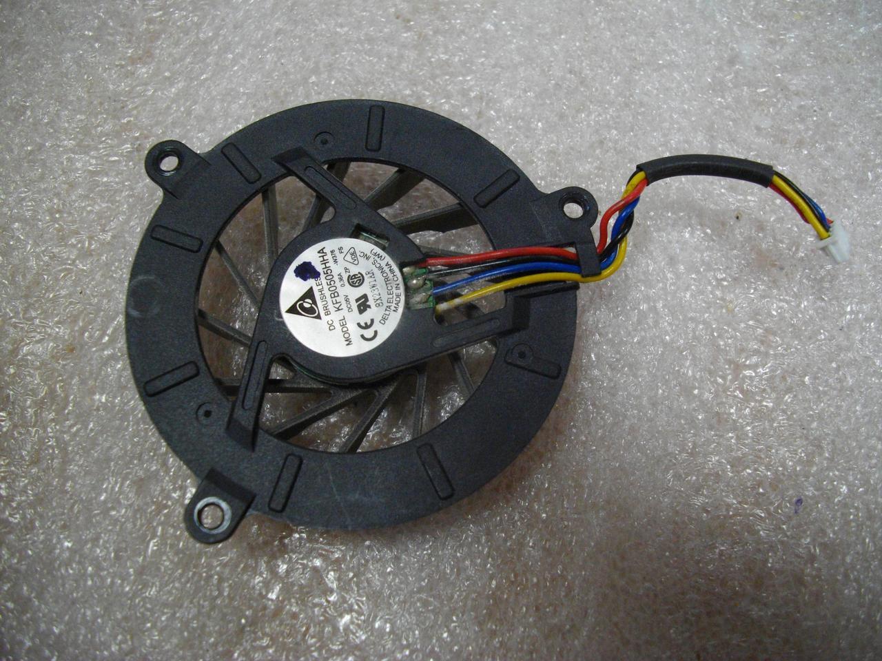 Вентилятор оригинальный KFB0505HHA Кулер Система охлаждения Asus PRO57, M51 бу