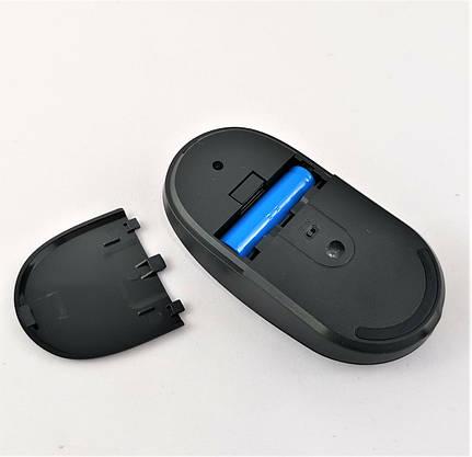 Беспроводная Мышка на АККУМУЛЯТОРЕ Заряжается от USB Тонкая Для Компьютеров и Ноутбуков, фото 3
