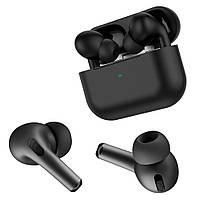 Бездротові Bluetooth-навушники Hoco ES38 з боксом-PowerBank гарнітура з захисним чохлом Чорні, фото 1