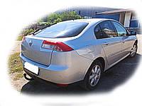Прицепное устройство со сьемным крюком (Фаркоп) Renault Laguna III хетчбек 2007-2016 г.в., фото 1