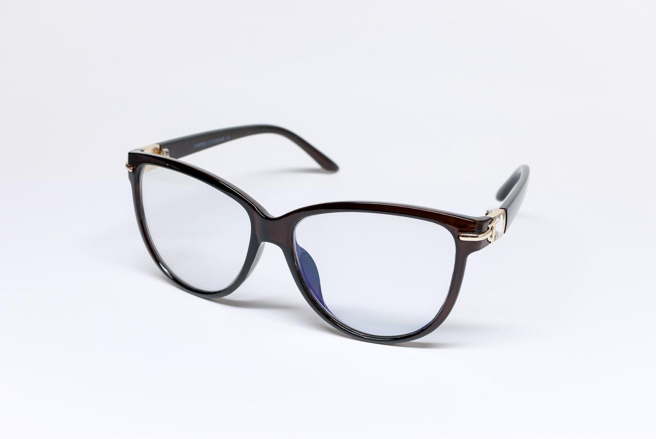 Жіночі комп'ютерні окуляри скло (Комп 7142 С1)