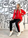 Жіночий спортивний костюм,розміри:50,52,54,56,58., фото 2