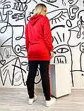 Жіночий спортивний костюм,розміри:50,52,54,56,58., фото 4