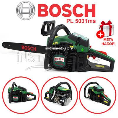 Бензопила BOSCH PL 5031ms (шина 45 см, 3.1 кВт) Пила Бош PL 5031ms
