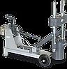 Стенд для выпрессовки шкворней с регулируемой шириной установочных болтов BP 65-215/275 BLITZ (Германия)