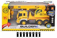 Машина на радиоуправлении Автокран Builder WY1005