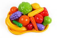 Іграшка Набір фруктів та овочів Технок 5347 (шт.) (шт.)