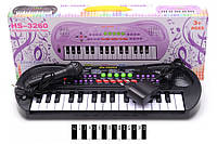 Піаніно з мікрофоном (коробка) HS3260А р.43,5*16,5*5,5 см (шт.)
