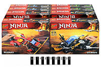 Конструктор Bozhi Ninja, Машина Ниндзя, 284#1-4