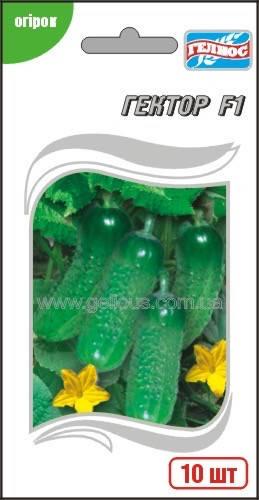 Семена огурцов пчелоопыляемых Гектор F1 10 шт (Nunhems)