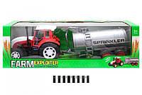Трактор інерц. з бочкою (коробка) 0488-227 р.63*19*19,5 см (шт.)