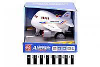Авіалайнер з муз. та світ. ефект. в коробці RJ6687A р.19*19*16см (шт.)