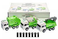 Набір сміттєвозів інерційних, в коробці 6шт 2289 р.34,3*23,8*9,8см (шт.)