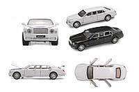 Машина металічна 7694 АВТОПРОМ 1:24 Bentley на батарейках: світло, звук, відкриваються двері, в коро (шт.)