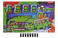 """Вантажівка з героями """"Черепашки-ніндзя"""" музично-світлова, в коробці, H4491 р.47*10*29см. (шт.)"""