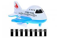 Літак інерційний (кульок) 137 р.21*20*11см. (шт.)