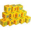 Кубик Абетка\Математика 12 шт. м які (Б) (шт.)