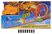"Трек-запуск ""Hot Wheel"" ""Cobra Truck"" (+1 металева машинка) 3075 (шт.)"