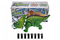 Динозавр музичний зі світлом, ходить, в коробці 1381-1 (шт.)