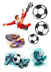 "Вафельна картинка  ""Футбол"""