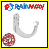 Rainway Белый 130 кронштейн желоба ПВХ, Держатель желоба рейнвей 130
