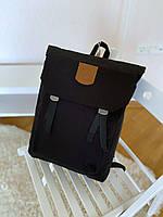 Рюкзак стильный городской Kanken Foldsack черный и хаки