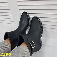 Женские утепленные резиновые ботинки непромокаемые, р.36, фото 3
