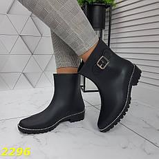 Женские утепленные резиновые ботинки непромокаемые, р.36, фото 2