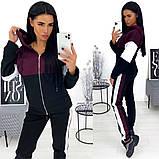 Теплый женский спортивный костюм с капюшоном 24-1371, фото 3