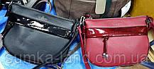 Женские молодежные клатчи, маленькие сумочки из искусственной кожи 25*18 см (черный и красный)