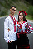 Червоно-чорнобрива вишиванка в українському стилі, фото 4