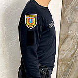 Качественный батник (кофта) для полиции. Украина. Р-ры: 42,44,46,48,50,52,54,56,58. Новая., фото 7
