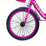 """Велосипед 18 """"Scale Sports"""" Розовый T18, Ручной и Дисковый Тормоз оптом, фото 3"""