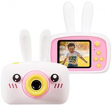 Детский цифровой фотоаппарат зайчик с памятью