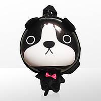 Рюкзак дитячий маленький для садочка дошкільний для хлопчика Zoo 3D Собачка чорно-білий (4064)