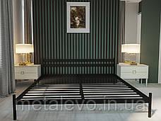 Металлическая кровать КОМФОРТ ТМ Метакам, фото 3