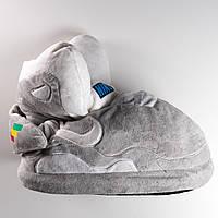"""Домашние тапочки кроссовки Nike Mag, плюшевые, комнатные, размер 35-38, """"Назад в будущее"""""""